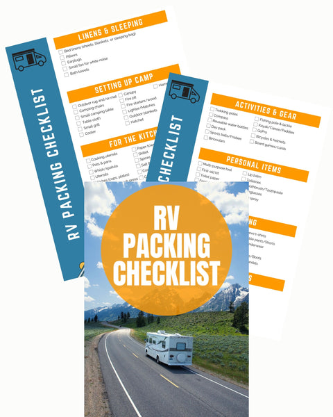 RV Packing Checklist