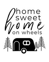 Home Sweet Home RV Decor Printable