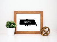 Travel Trailer Printable Wall Art RV Decor