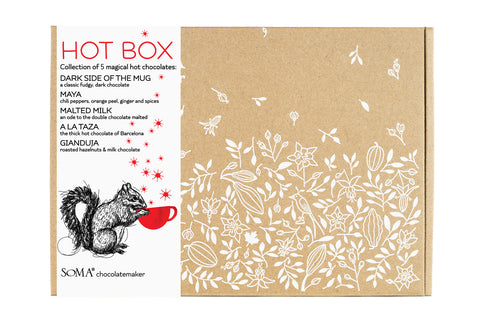 Drinking chocolate collection - HOT BOX (wholesale)