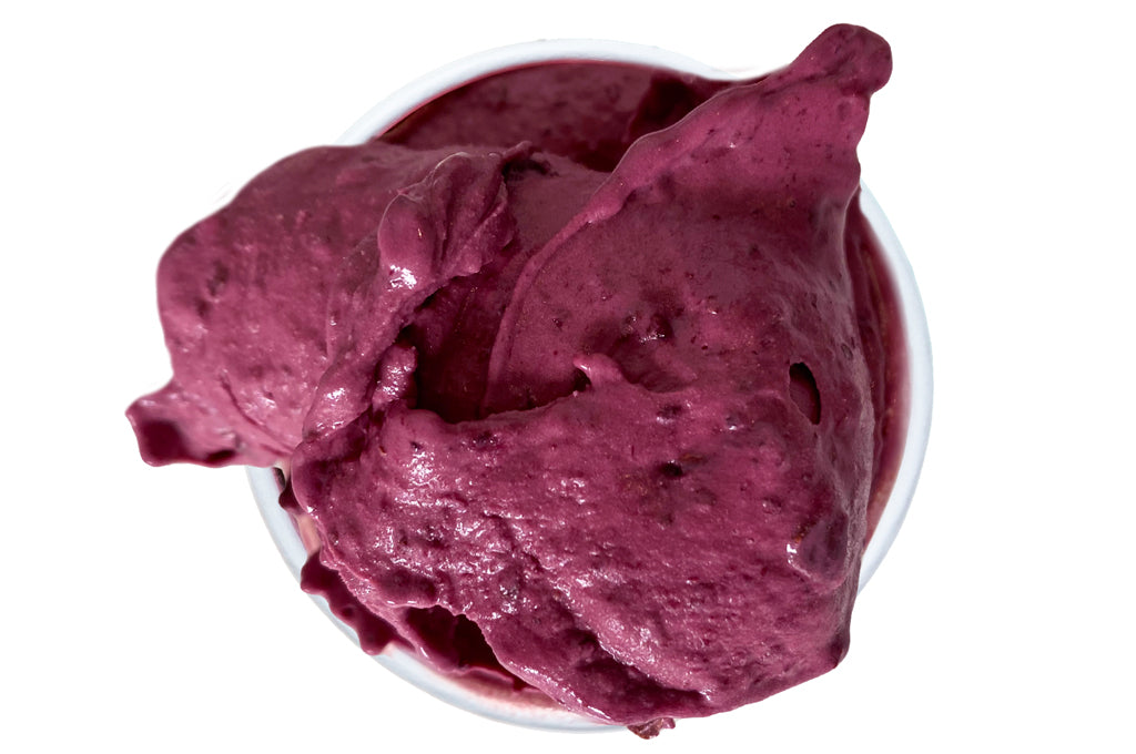 Blueberry Basil Sorbet