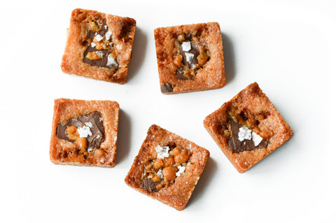 Pecan Chocolate Toffee cubes