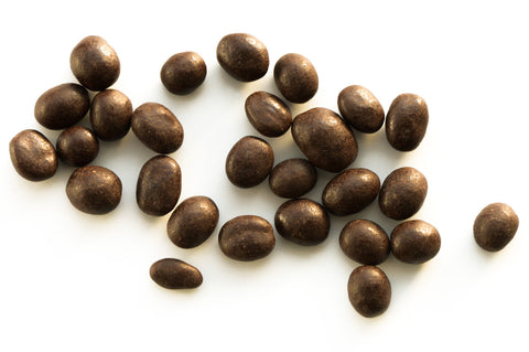 Espresso beans tumbled in Dark chocolate