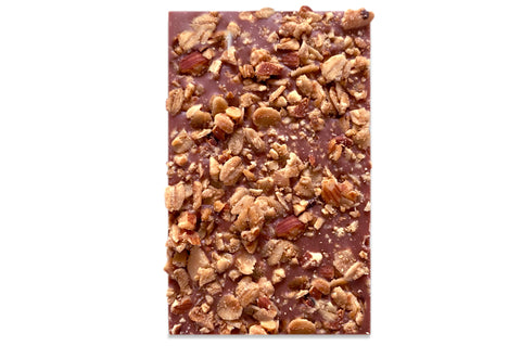 Plum crumble bar