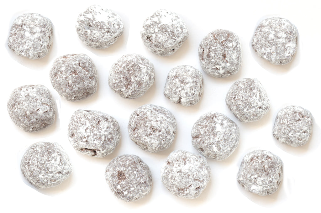 Snowballs- Hazelnut cookies tumbled in mint chocolate