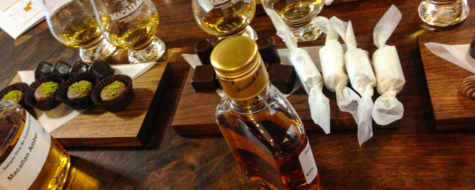 The Macallan- whisky pairings