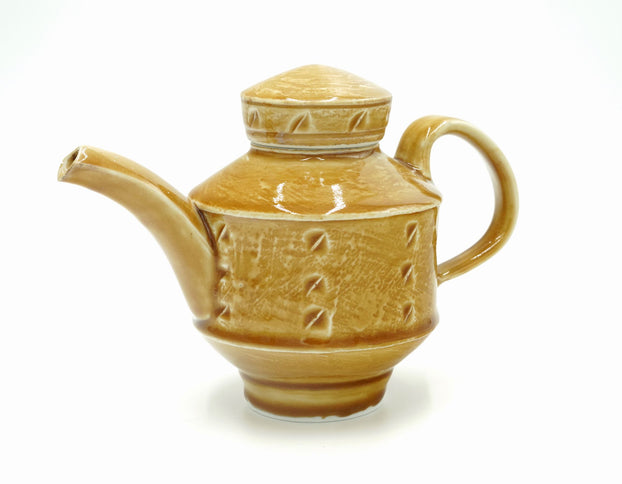Walter Hyleck Amber Tea Pot