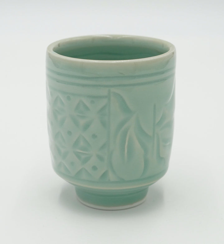Walter Hyleck Celadon Small Cup