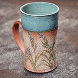 Large Botanical Mug by Teresa Cole