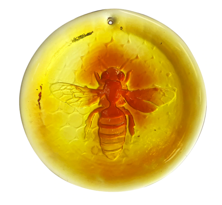 Blenko Honeybee Suncatcher
