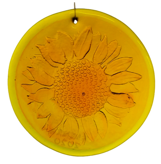 Blenko Sunflower Suncatcher
