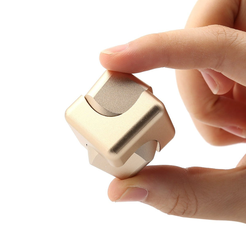 Fidget Cube Spinner Or - Object anti stress