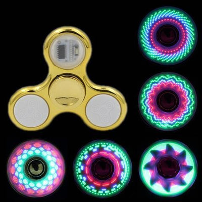Hand Spinner Brillant à Led