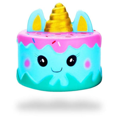 Balle Anti-Stress Squishy Gâteau Chat Licorne | Anti Stresss