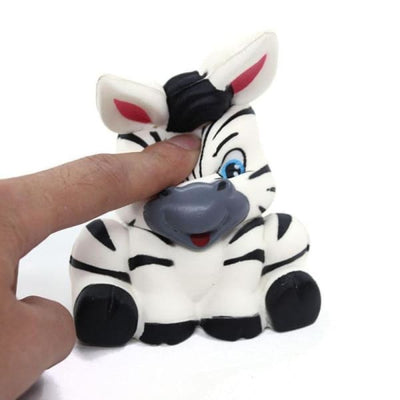 BALLE ANTI-STRESS SQUISHY / ZEBRE - Balle anti stress
