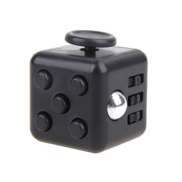 Fidget Cube Black - Object anti stress