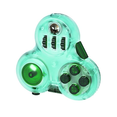Fidget Cube Manette - Vert - Object anti stress