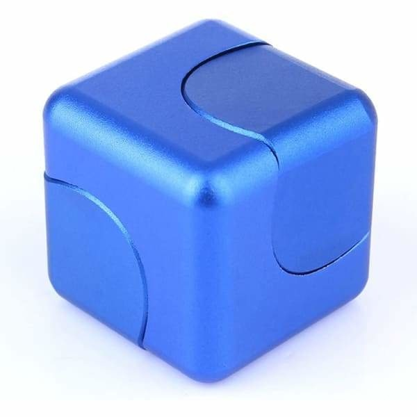 Fidget Cube Spinner Bleu - Object anti stress