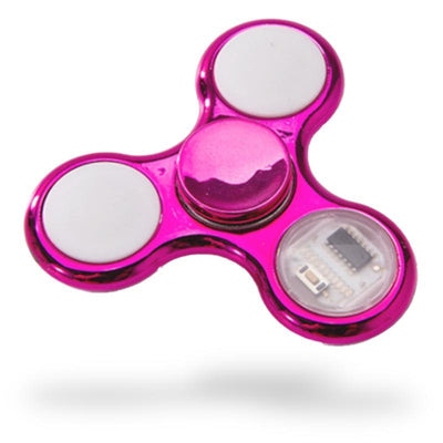 Hand Spinner Brillant à Led | Anti Stresss