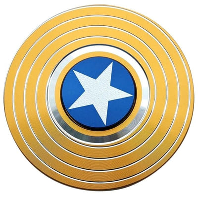 Hand Spinner Captain America Gold