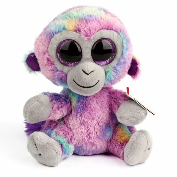 Peluche aux Gros Yeux Signe Rose - Peluches