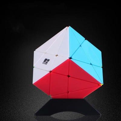 Rubik's Cube Axis - Bleu - Object anti stress