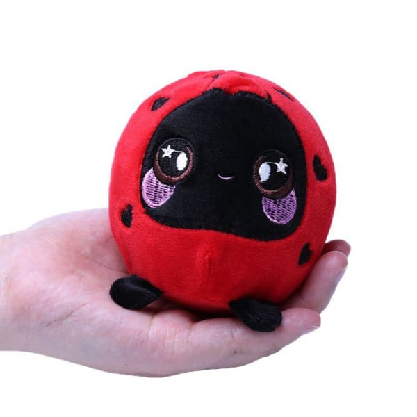 Squeezamals Ladybug - Strawberry - Peluches
