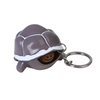Squishy Porte Clé Tortue - Gris - Balle anti stress