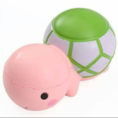Squishy Tortue - Rose - Balle anti stress