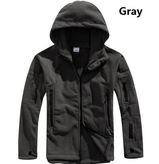 MAGCOMSEN Winter Jackets Men Fleece Military Tactical Jacket Softshell Thermal Hooded Coat Men Clothing Windbreakers YCIDL-001