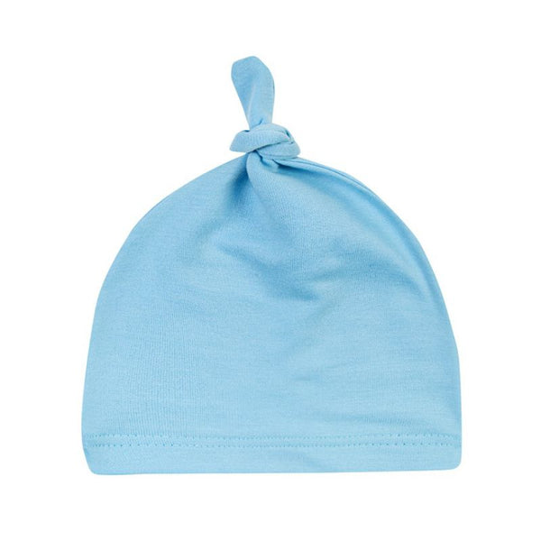 Newborn Baby Cotton Knot Beanies Toddler Girls Sleep Caps