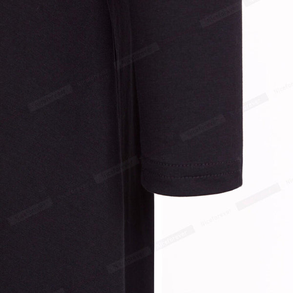 Nice-forever Sexy Backless Pleated Black Charming Fitted Dress Long Sleeve Flank Dovetail Elegant Split Maxi Dress B20