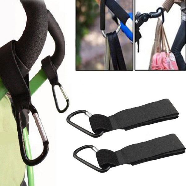 Universal Stroller Hooks Wheelchair Stroller Pram Carriage Bag Hanger Hook Baby Strollers Shopping Bag Clip Stroller Accessories