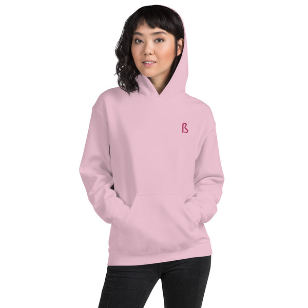 PINK Hoodie - Embroidered