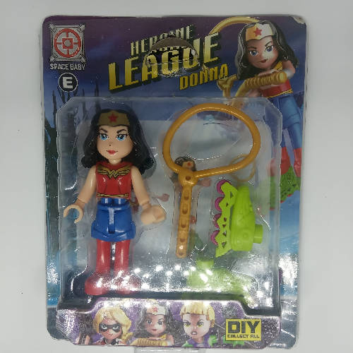 Muñecas lego Heroine League
