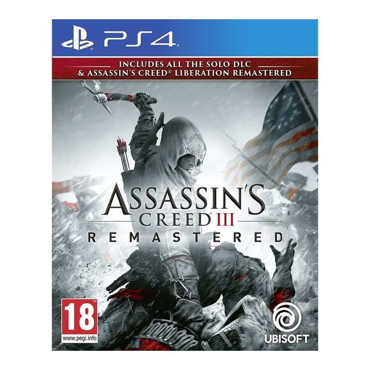 Assassin Cred III Remastered PS4