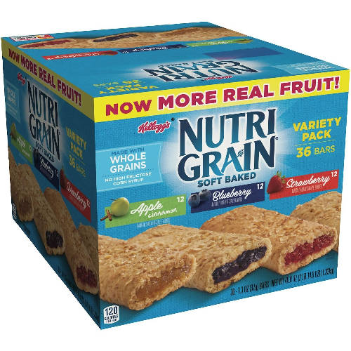 Kellogs Nutri Grain 36pcs