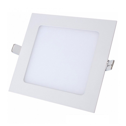 Lampara Panel LED Empotrable Cuadrada 12W