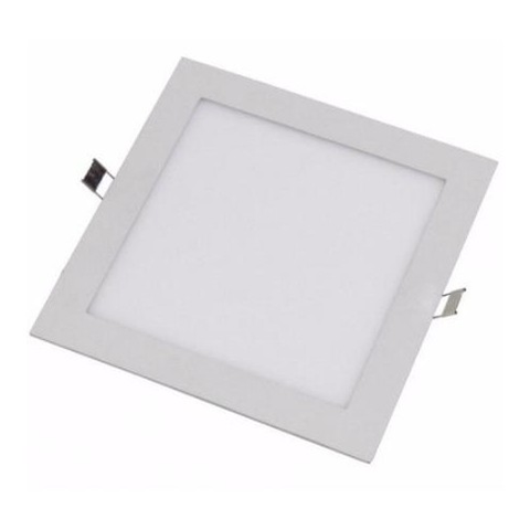 Lampara Panel LED Empotrable Cuadrada 18W