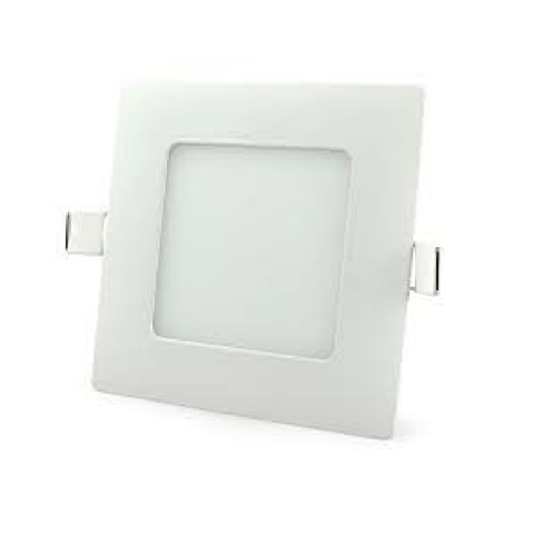Lampara Panel LED Empotrable Cuadrada 6W