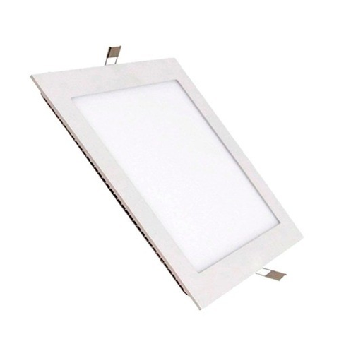 Lampara Panel LED Empotrable Cuadrada 9W