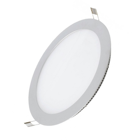 Lampara Panel LED Empotrable Redonda 12W