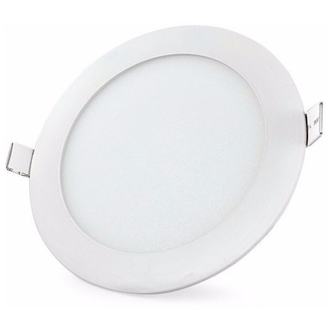 Lampara Panel LED Empotrable Redonda 18W
