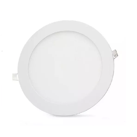 Lampara Panel LED Empotrable Redonda 6W