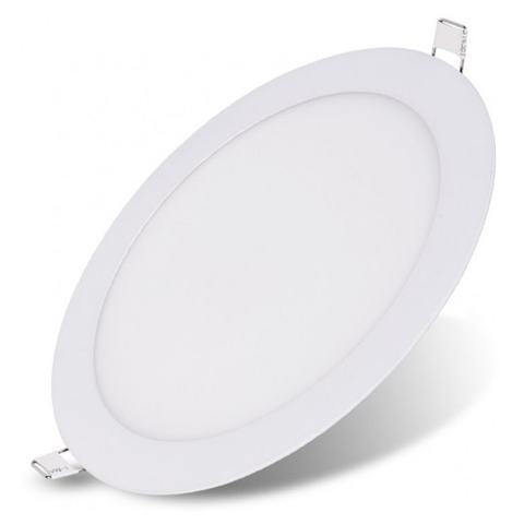 Lampara Panel LED Empotrable Redonda 9W