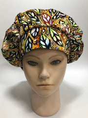 Ankara Scrub Cap or Hair Bonnet