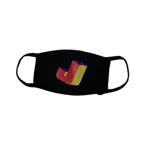 Retro J Mask (Black)