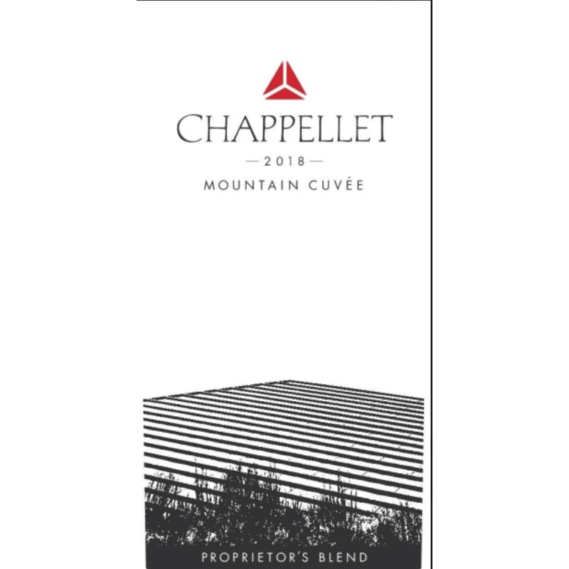 Chappellet Mountain Cuvee Proprietor's Blend 2018 - Gather1