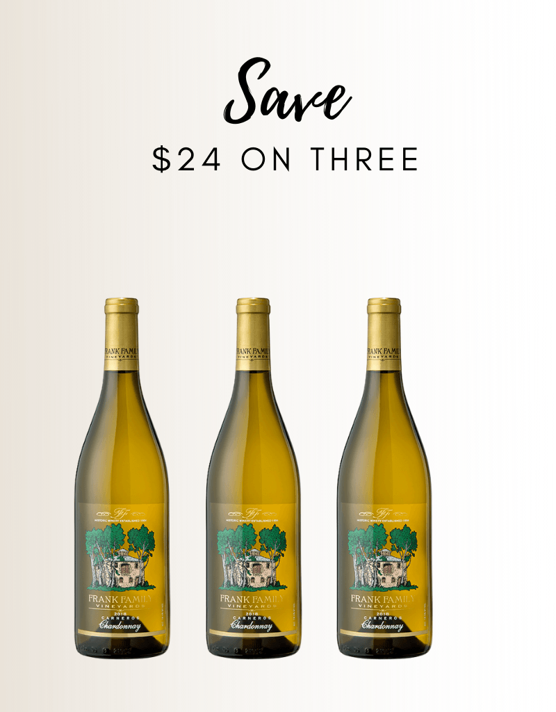 Frank Family Chardonnay 3 PACK - Gather1