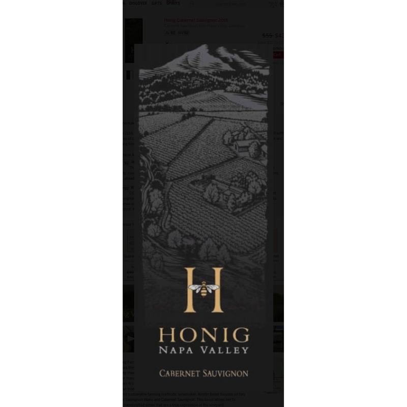 Honig Cabernet Sauvignon - Gather1